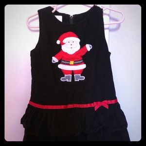Lollywollydoodle corduroy Christmas jumper 2t